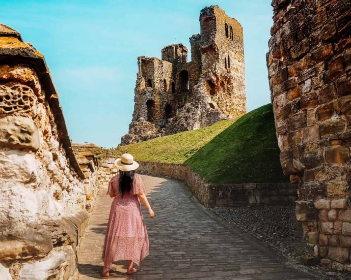 Scarborough Castle Yorkshire