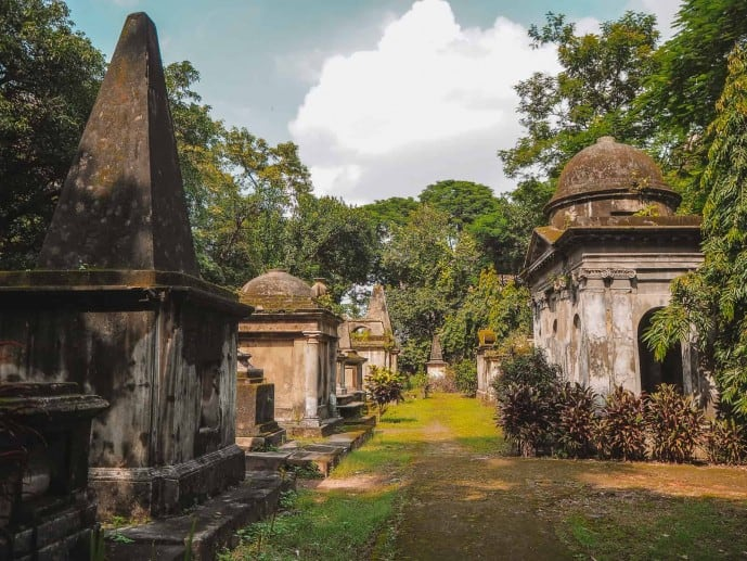 South Park Street Cemetery Haunted Kolkata