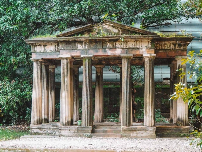 South Park Street Cemetery Roman Temple