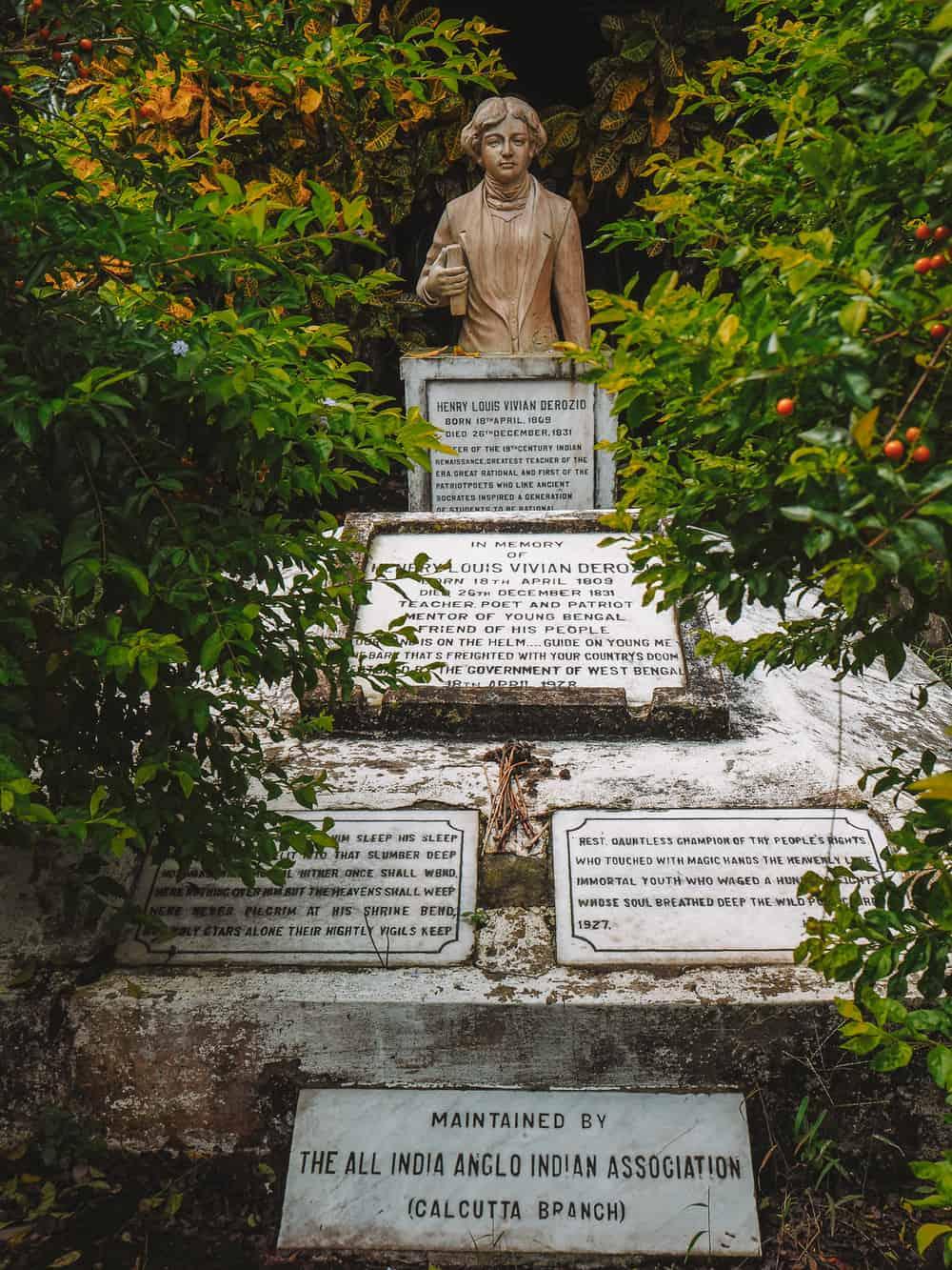 Henry Derozio's Tomb