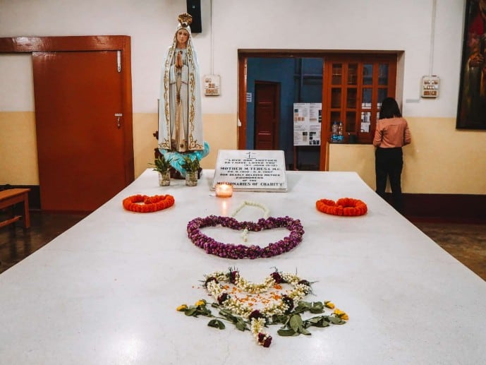 Mother Teresa's Grave Kolkata