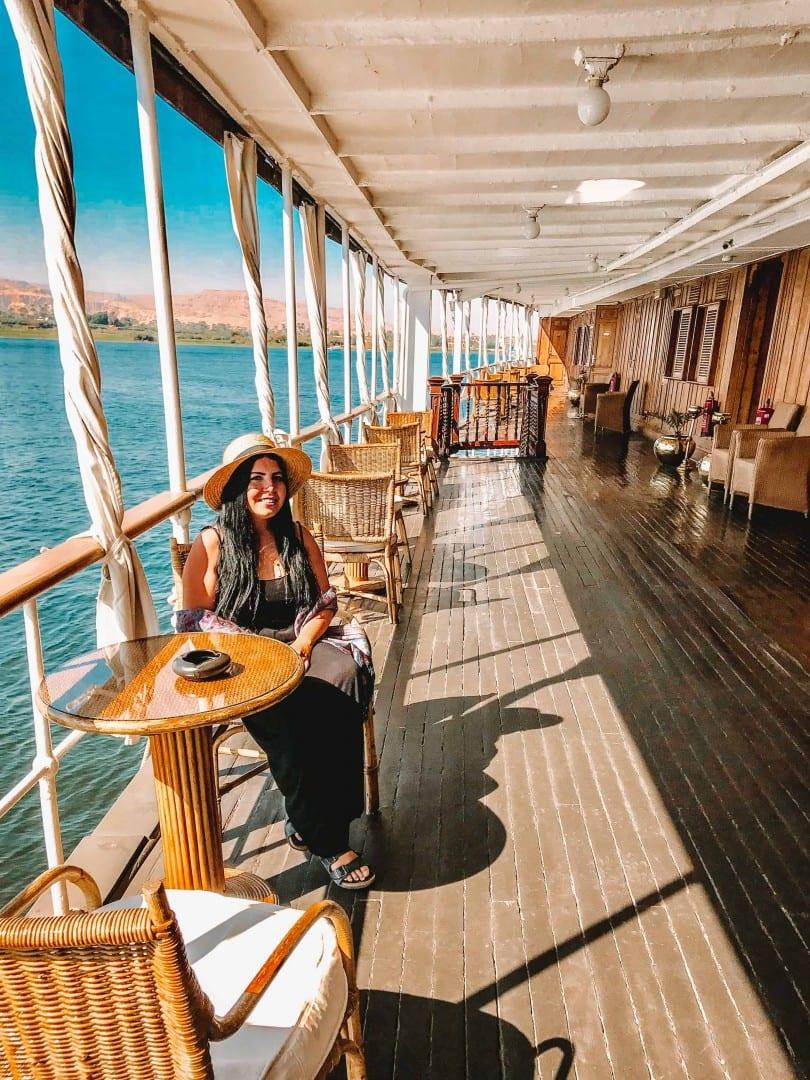agatha christie nile cruise steam boat sudan