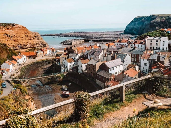 Cleveland Way Staithes