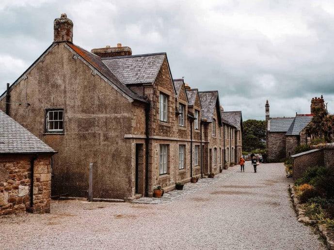 St Michaels Mount village