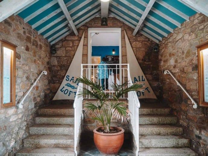 St Michaels Mount Cafe