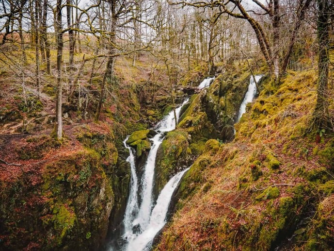 Stock Ghyll Force Waterfall