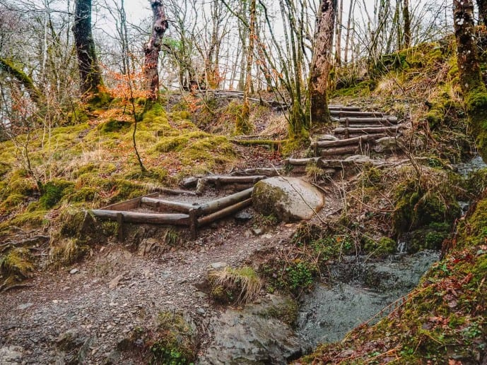 Stock Ghyll woods loop