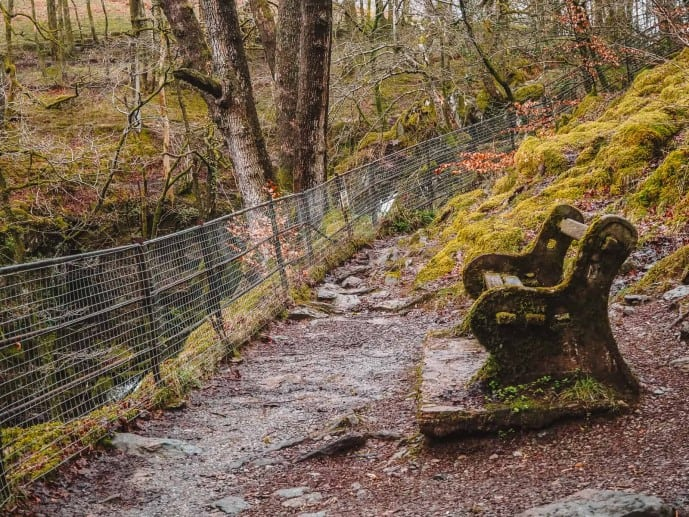 Stock Ghyll Force benches