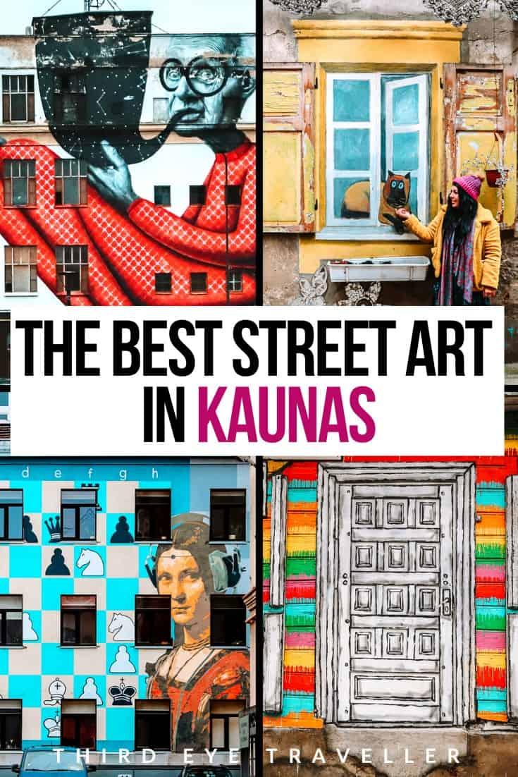 Kiemo Galerija | Best Street Art in Kaunas Lithuania