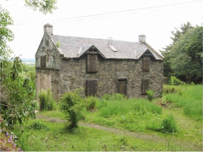 Ivy Cottage on University of Stirling Campus was used in Outlander