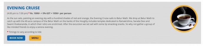 Vivada evening cruise ticket price