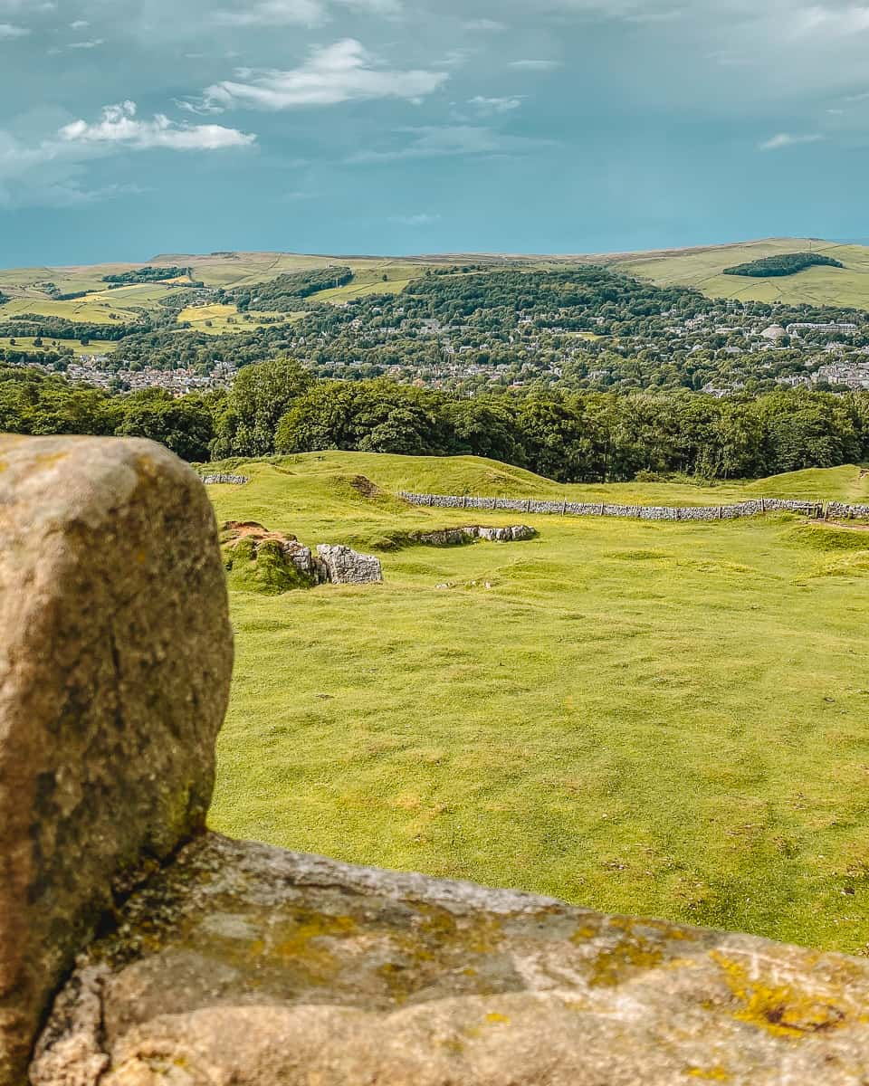 Views over Buxton from Solomon's Temple