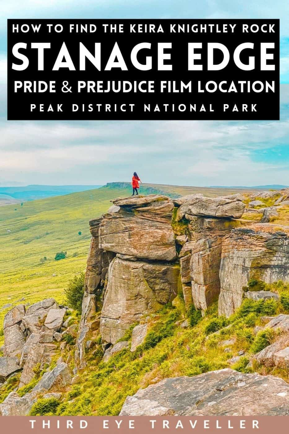 Stanage Edge Pride and Prejudice Filming Location Keira Knightley Rock