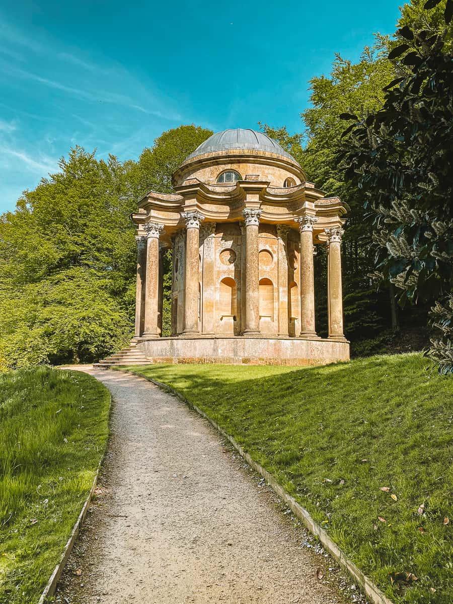 The Temple of Apollo Stourhead