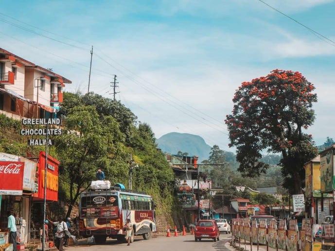 Bus to Munnar