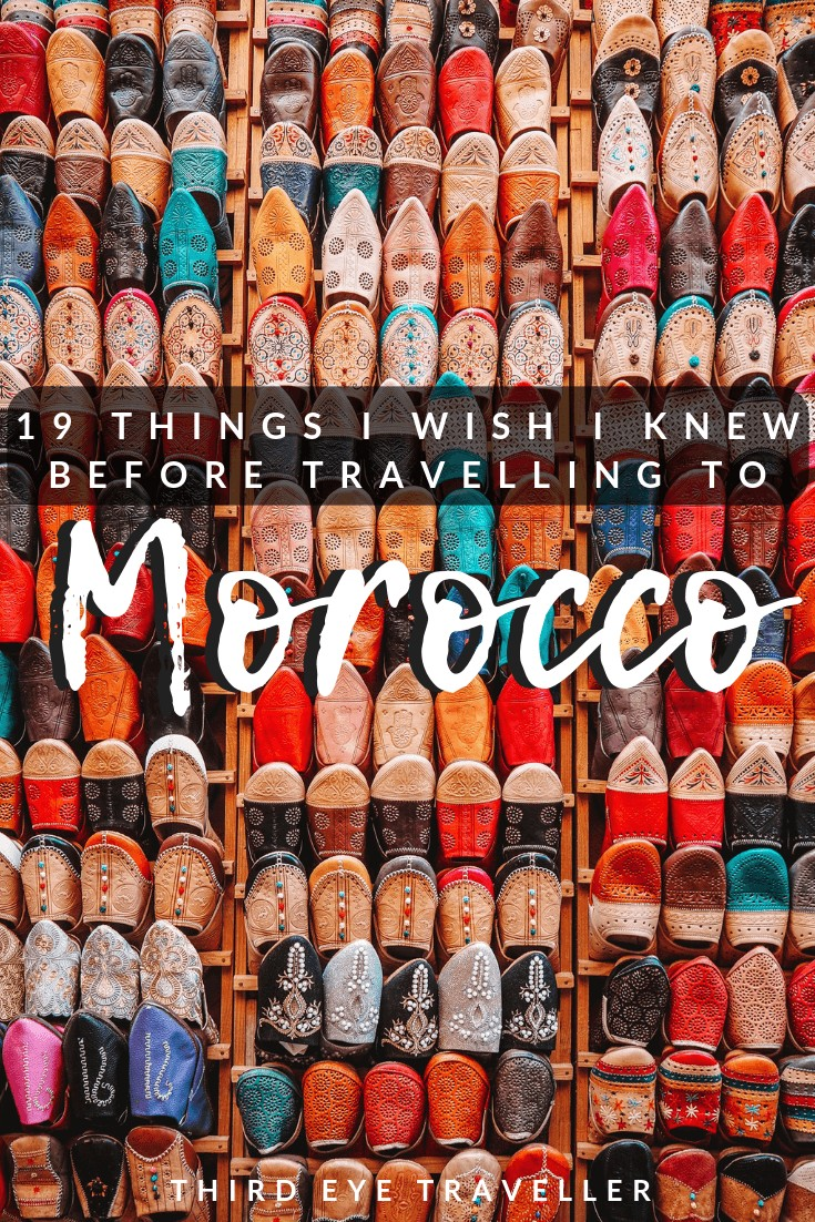 things to know before travel to morocco