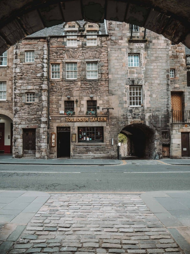 royal mile outlander edinburgh locations
