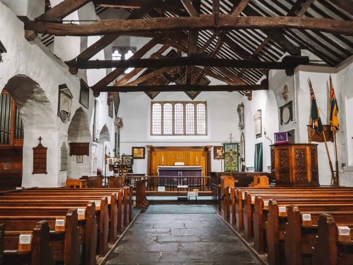 St Oswald's Church Grasmere