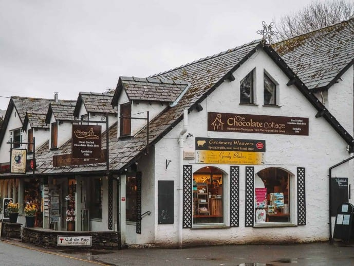 Grasmere Chocolate cottage