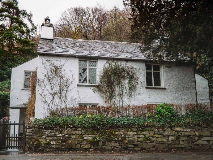 William Wordsworth's Dove Cottage, Grasmere
