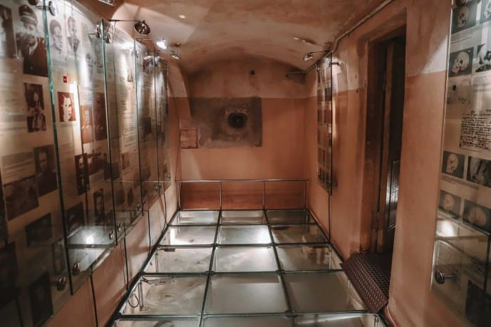 The Death Chamber at the KGB Prison