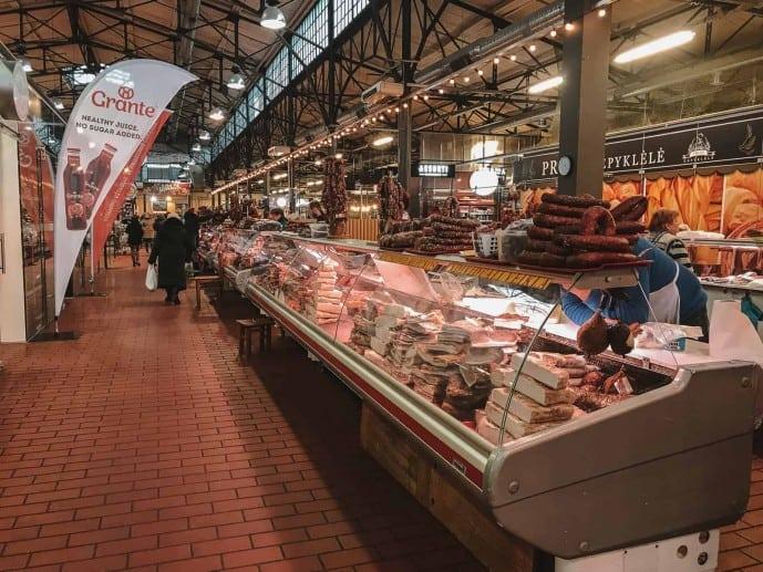 Halés market Vilnius
