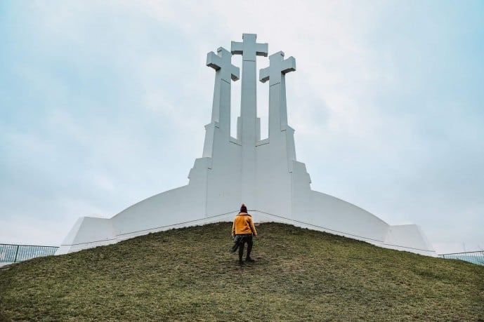 Hill of Three Crosses Vilnius | Best Viewpoints in Vilnius