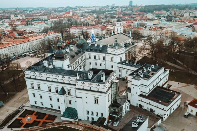 Viewpoints in Vilnius | View from the top of the Gediminas Towe