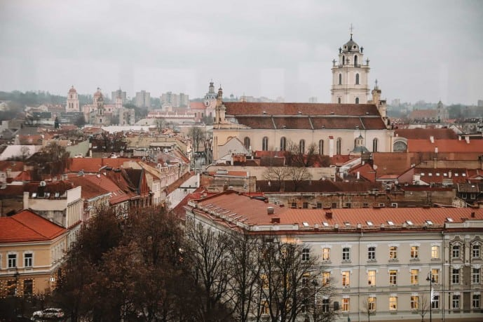 Palace of the Grand Dukes observation deck | Best Viewpoints in Vilnius