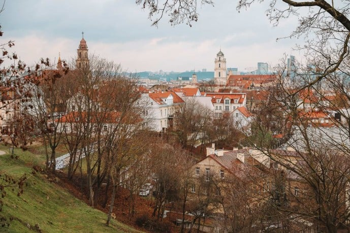 Viewpoints in Vilnius | Vilnius City Bastion