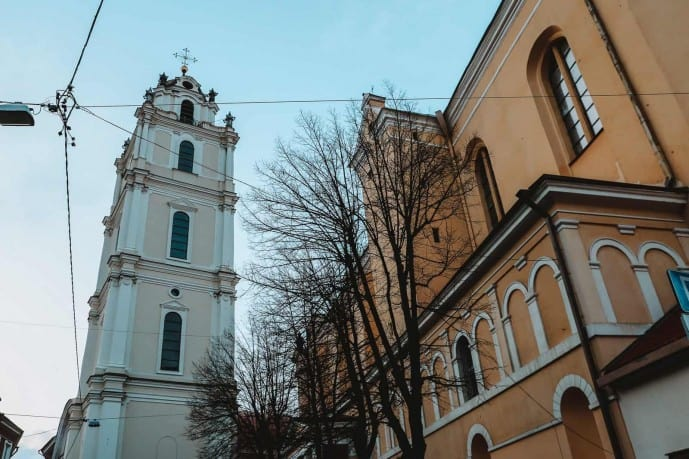 Church of St Johns Tower | Viewpoints in Vilnius