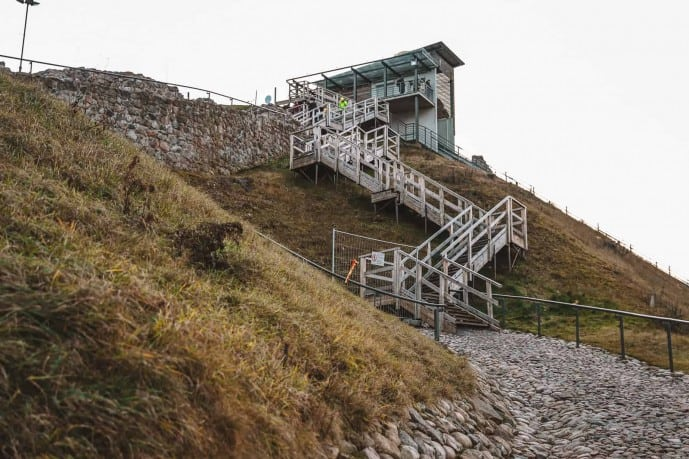 Gediminas Tower Hill Stairway