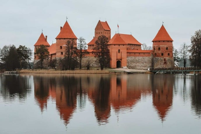 Trakai Castle Observation deck | things to do in Trakai