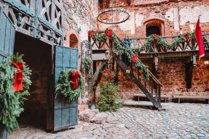 Trakai Island Castle Christmas Decorations