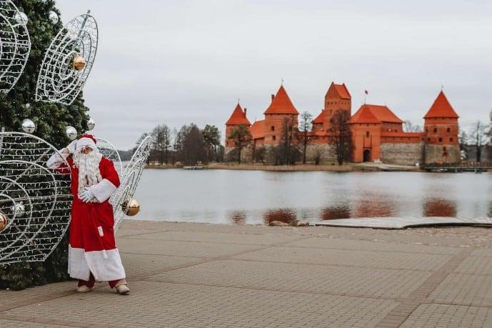 Santa in Trakai | Christmas in Trakai