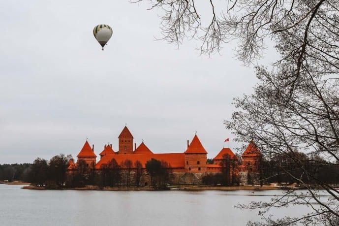 Trakai Hot Air Balloon rides | Things to do in trakai