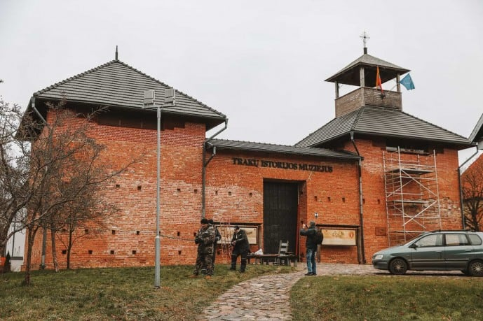 Trakai History Museum behind the Old Post Office