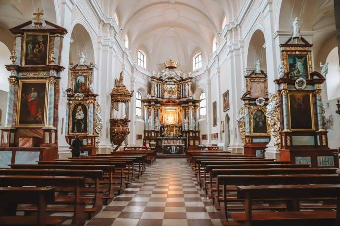 St Mary's Church in Trakai | Things to do in Trakai