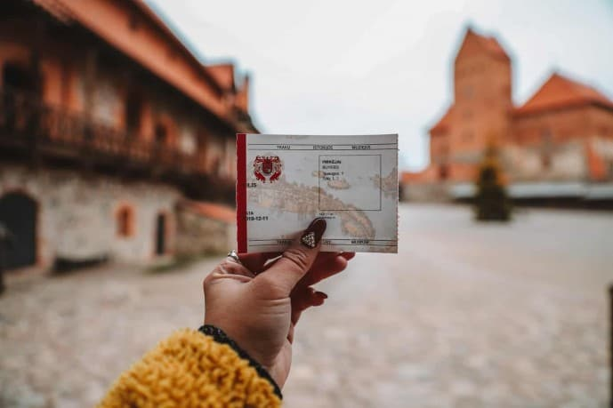 Tickets to Trakai Castle
