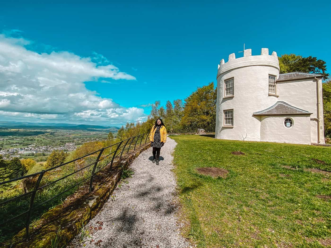 Things to do at The Kymin Monmouth Wye Valley Wales