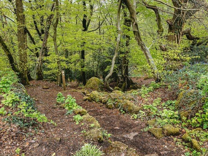 Offa's Dyke Path from the Kymin