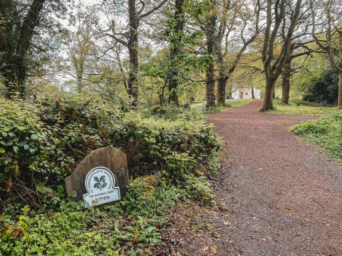 The Kymin National Trust plaque