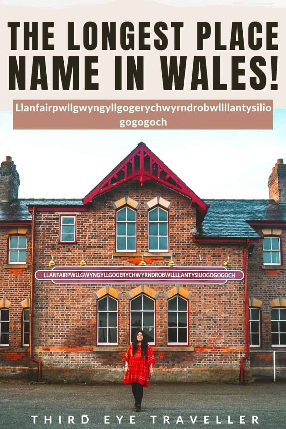 Longest Place Name in Wales Llanfair Anglesey Llanfairpwllgwyngyllgogerychwyrndrobwllllantysiliogogogoch