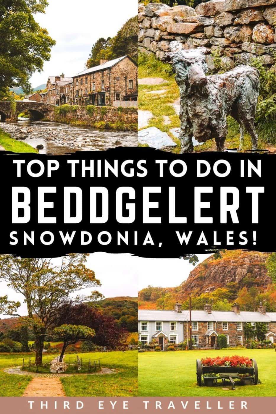 Things to do in beddgelert Wales