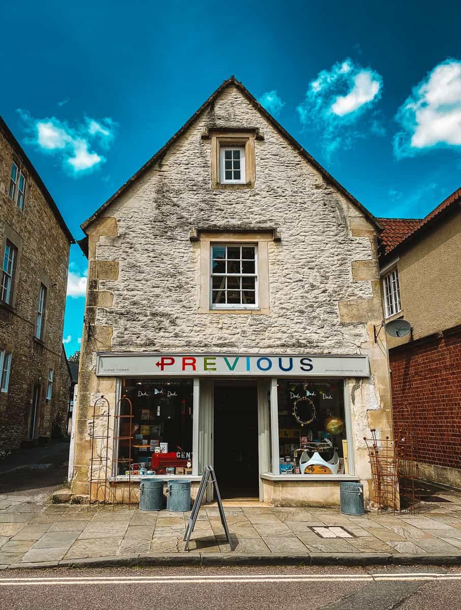 Previous shop in Corsham