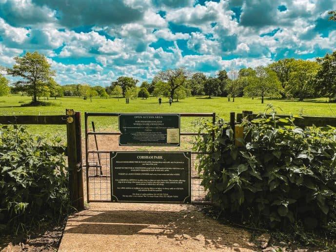 Corsham Court Park