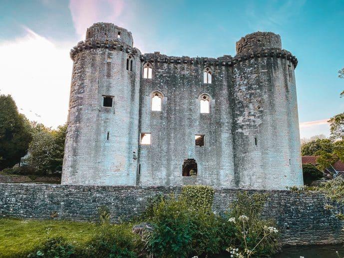 Nunney Castle View