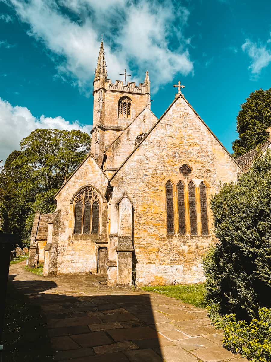 St Andrew's Church Castle Combe Cotswolds