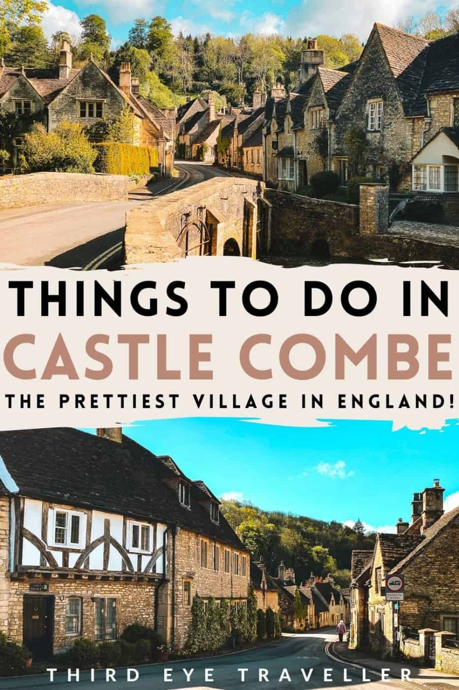 Things to do in Castle Combe village