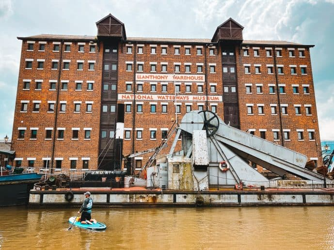 Gloucester Docks Llanthony Warehouse